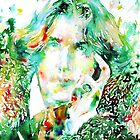 OSCAR WILDE watercolor portrait.2 by lautir