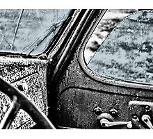 Car back to the Past Photographic Print