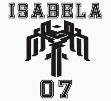 Isabela team shirt by MilkyPeach