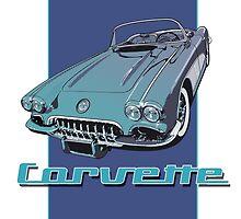 1959 Chevrolet Corvette by Steve Harvey