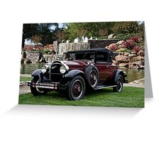 1928 Packard 526 Convertible Coupe II Greeting Card