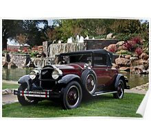 1928 Packard 526 Convertible Coupe II Poster