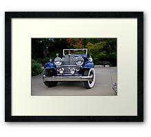 1932 Packard Victoria Convertible III Framed Print