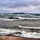 Whitecaps on Superior by Brian Gaynor