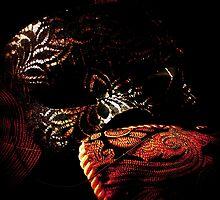 Shadowed Phantom Masquerade Mask by Trinton TrinityHawk Garrett