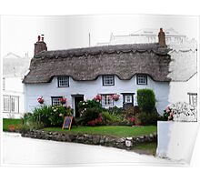 Little Tea Room at Coverack  Poster