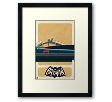 Batmobile 66 part II of III Framed Print