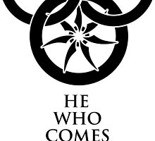 Wheel of Time Logo - With Aiel Tagline by PatriotShadow