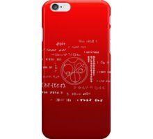 Love letter to a geek iPhone Case/Skin