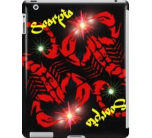 Scorpio - Astrology Signs iPad Case/Skin
