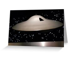 Lost in Space Spaceship Greeting Card