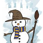 Ravenclaw Christmas Card  by Jess Nixon