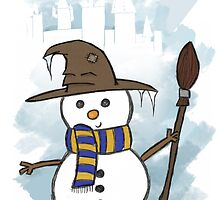 Ravenclaw Christmas Card  by jessnnn