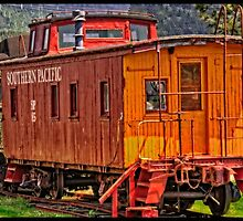 Old SP 85 Caboose by thomr
