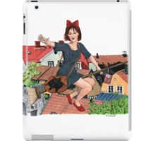 Out for Deliveries - Kiki's Delivery Service iPad Case/Skin