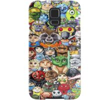 CircleToon Collage Samsung Galaxy Case/Skin