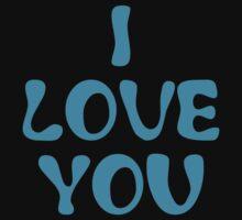 I Love You (I Love You & I Know Couples Design) by 2E1K