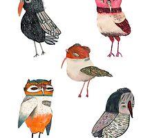 Bunch of Birds by penwork