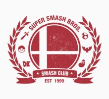 Smash Club Ver. 2 (Red) by Bryant Almonte Designs