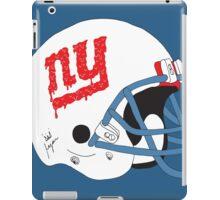 NY Giants Helmet Drips iPad Case/Skin