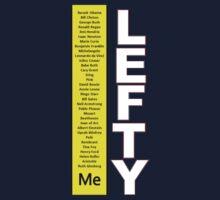 Lefty t-shirt by BridgetVonBriel