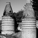 Historic Bottle Kilns, Portland NSW by Deborah McGrath