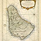 Map of Barbados 1758 by AndrewFare