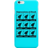 Expressions of Shark iPhone Case/Skin