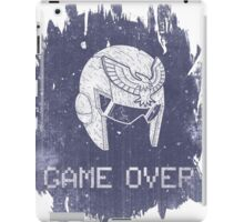Game Over Captain Falcon iPad Case/Skin