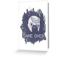 Game Over Captain Falcon Greeting Card
