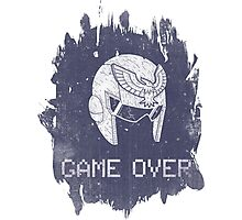 Game Over Captain Falcon Photographic Print