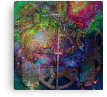 Clockwork Universe 1 Canvas Print