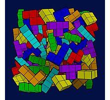 Tetris Pile Photographic Print