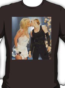 Britney & Madonna Kiss T-Shirt