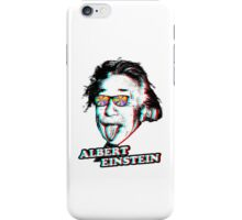 3D Albert Einstein iPhone Case/Skin
