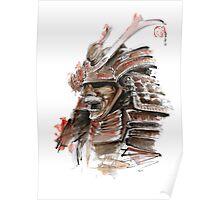Samurai armor for sale, japanese warrior costume Poster
