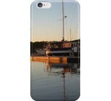 Sunset Reflection at Harbour! 'Tin Can Bay' Queensland. iPhone Case/Skin