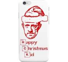 Happy Christmas Mike iPhone Case/Skin