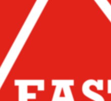 East Peak Apparel - Red Square Large Logo Sticker