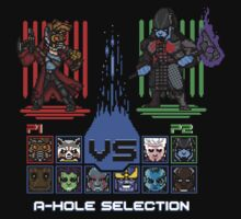A-Hole Selection by DemonigoteTees