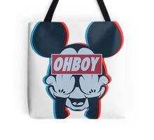 Stereoscopic ohboy Tote Bag