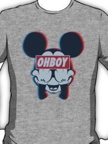 Stereoscopic ohboy T-Shirt