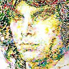 JIM MORRISON -watercolor portrait.2 by lautir