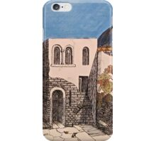 Back of the Neighborhood Fortifications iPhone Case/Skin