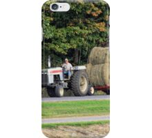 Making hay while the sun shines iPhone Case/Skin