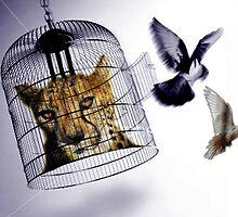 Flying Free of Oppression by Trinton TrinityHawk Garrett