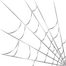Cobweb Pillow by Sophie Green