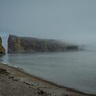 Foggy morning at Percé Peninsula in Gaspesie  by 29Breizh33