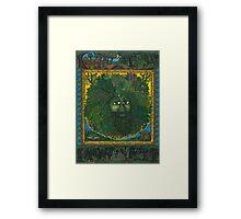 The Ledgend of The Greenman Framed Print