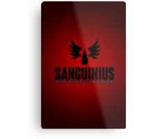 Sanguinius - Blood Angels - Damaged Metal Print